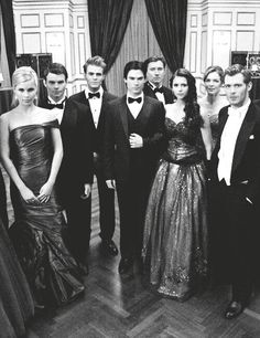 I just need to be standing next to Klaus and the founders ball will be complete