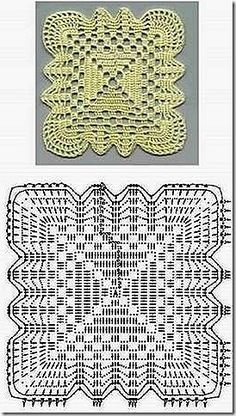 Beautiful crochet squares!