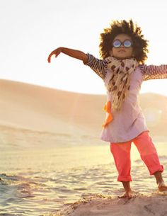 Adorable! Amazing! Child at the beach! #photo