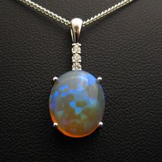 Super dooper Ridge crystal opal. More green than blue in realz, but the pattern…