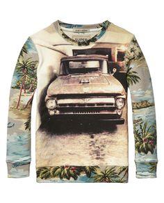 Photo Print Sweater Photo Print Sweater
