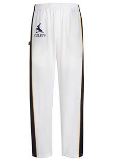 Elite Kids Blue Piping Cricket Trouser