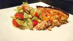 Grekisk skinkpaj Lchf, Keto, Quiche, Frozen, Low Carb, Chicken, Breakfast, Ethnic Recipes, Food