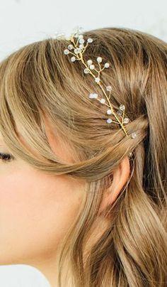 Bridal Hair Wreath / Wedding Hair Accessories http://ift.tt/1v2gXHy