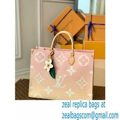 Louis Vuitton OnTheGo GM Tote Bag M57641 Gradient Pastel Pink By The Pool Capsule Collection 2021 Luxury Bags, Hermes Birkin, Pastel Pink, Louis Vuitton, Tote Bag, Collection, Louis Vuitton Wallet, Totes, Louis Vuitton Monogram