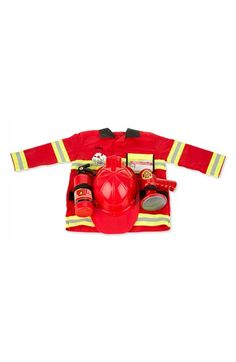 Toddler Melissa & Doug Personalized Fire Chief Costume