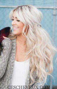 8.Les Cheveux longs Chignon