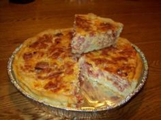 Italian Easter Pie, aka Pizza Gain, PIzza Rustica, and others. This one sounds like the one I've been looking for!