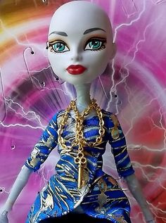 Golden Metal Key Charm Double Strand Chain by CuteWeirdFluffy, $3.90 Monster High Doll Ever After High Dolls