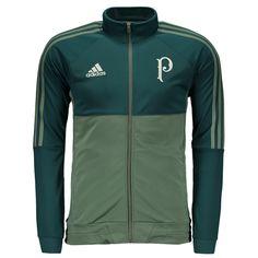 986ba617d Agasalho Adidas Palmeiras Viagem 2017 Verde Somente na FutFanatics você compra  agora Agasalho Adidas Palmeiras Viagem