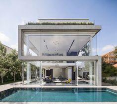A Concrete Cut - Picture gallery #architecture #interiordesign #façade