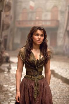 Samantha Barks's Crazy-Tiny Waist in Les Miserables: Discuss.