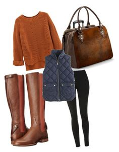 """Untitled #187"" by tunnufn on Polyvore featuring Ariat, Topshop, WithChic, Aspinal of London and J.Crew"