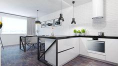 Dobryinterier.sk Kitchen Units, Kitchen Countertops, Table, Furniture, Home Decor, Homemade Home Decor, Kitchen Counters, Mesas, Home Furnishings