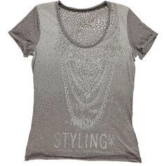 T-shirt maculato devorè Gas donna. Disponibile in 2 varianti colore - € 45,90 scontata del 10% la paghi solo € 41,31 | Nico.it - #fashionista #nicoit #nicoabbigliamentocalzature #fashion #nuoviarrivi #newarrivals #newcollection #nuovacollezione #bestoftheday #outfit #outfitoftheday #spring #springsummer #summer #ss15 #2015 #gas #gasjeans