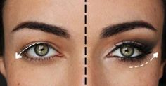 5 makeup tricks to give droopy eyes an instant lift …