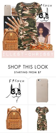 """Greedy x Ariana"" by illest-chrissy ❤ liked on Polyvore featuring House by John Lewis, MCM, WearAll and Puma"