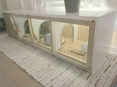 33 Stunning Ikea Kallax Hacks for Really Small Budgets – james and catrin I got myself a bunny and was looking for a rabbit house. I didn't find anything interesting so I had the idea of making one myself using the Ikea Kallax. Indoor Rabbit House, Rabbit Hutch Indoor, Indoor Rabbit Cage, Diy Bunny Cage, Bunny Cages, Rabbit Cages, Ikea Kallax Hack, Ikea Malm, Rabbit Enclosure