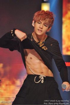 ABS ^_^ no wait his face O.o