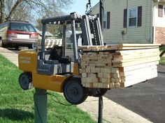 Mailbox, for that forklift driver that can't get enough of it ...