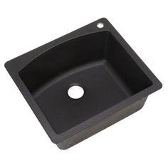 Blanco 440209 diamond single bowl drop in silgranit ii kitchen sink blanco dual drop in undermount granite composite 25 in 1 hole single bowl kitchen sink in anthracite workwithnaturefo