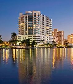 Il Lugano Hotel Fort Lauderdale, FL.  Our new favorite hotel!  Unbelievable service and price was amazing for room and view!
