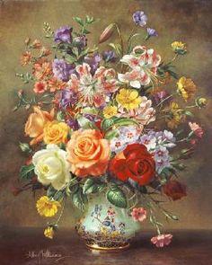 Albert  Williams - AB/316 A Summer Floral Arrangement, 1996