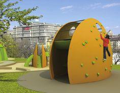 """다음 @Behance 프로젝트 확인: """"Playground with comfort facilities"""" https://www.behance.net/gallery/15053591/Playground-with-comfort-facilities"""