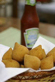 Brasilian Food: Coxinha (you'll have to translate the page if you don't read Portuguese)
