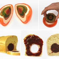 Design culinaire Elise Labide et Ditte Kuijpers d'Elise Labide et ses « Tomates gigognes