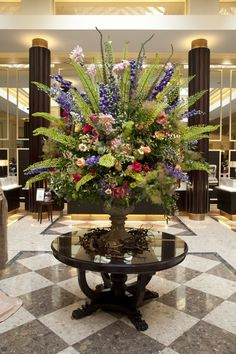 Image result for hotel lobby flowers