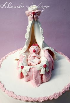 Baby cakes by Alessandra Cake Designer, via Flickr