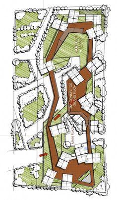68 Ideas Landscape Masterplan Urban Design Master Plan For 2019 Modern Landscape Design, Landscape Architecture Design, Garden Landscape Design, Landscape Plans, Modern Landscaping, Urban Landscape, Landscape Pavers, Landscaping Design, Landscaping Software
