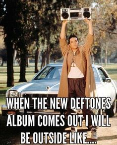 Deftones - Gore if it anything like my favorite one from them of all time then i might Deftones Gore, 80s Movies, Movie Tv, Music Is Life, Music Love, My Music, Cool Bands, Soundtrack, Chino Moreno