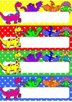Dinosaur Desk Name Tags Editable Classroom Desk