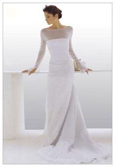 Le Spose Di Gio on Kleinfeld Bridal Lace Wedding Dress, Modest Wedding Dresses, Bridal Dresses, Wedding Gowns, One Shoulder Wedding Dress, Bridesmaid Dresses, Older Bride, W Dresses, White Gowns