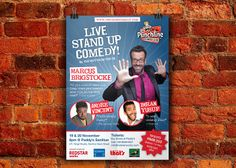 Stand up comedy, Marcus Brickstock live in Beijing