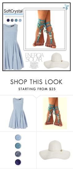 """""""SoftCrystal"""" by fashion-all-around ❤ liked on Polyvore featuring Dorothy Perkins, Terre Mère, Melissa Odabash and Magdalena"""