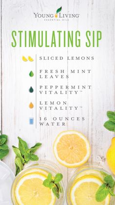 Join Young Living Essential Oils with Melanie Long Cooking With Essential Oils, Yl Essential Oils, Young Living Essential Oils, Essential Oil Blends, Yl Oils, Young Living Vitality, Fresh Mint Leaves, Living Essentials, Young Living Oils