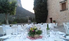 With a local touch!!! Son Berga wedding venue Alaró - Mallorca