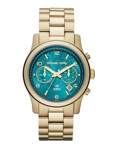 Michael Kors Watch Hunger Stop Mid-Size 100 Series Watch.