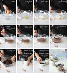 Bizcocho en 5 minutos by SandeeA Cocina, via Flickr (La receta de la felicidad.-blog)