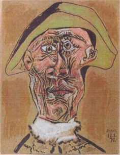 Harlequin Head by Pablo Picasso Date missing: 2012 Market value: Unknown The believed-burned Picasso piece was completed in two years before the artist died. Pablo Picasso, Art Picasso, Picasso Paintings, Picasso Images, Abstract Paintings, Dora Maar, Francoise Gilot, Monument Men, Home