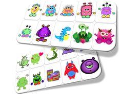 Jeu éducatif: La chasse aux Monstres Bricolage Halloween, Busy Bags, Halloween 2018, Kindergarten Math, Monster, Pre School, Baby Toys, Activities For Kids, Kids Rugs