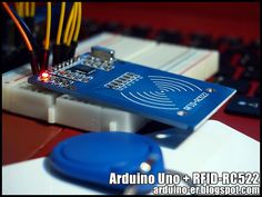 This post show how Arduino Uno + RFID-RC522 (RFID reader) to dump info of RFID key and RFID card, using Arduino RFID Library for MFRC...