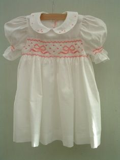 Traditional English Smocked Dresses