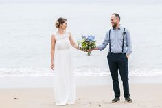 A Sweet Scottish Seaside Family Elopement With Exquisite Flowers | Love My Dress® UK Wedding Blog