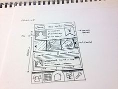 Dribbble - UX Sketch Profile by Stiles Lowe