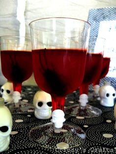 Bloody Halloween Jello Treats