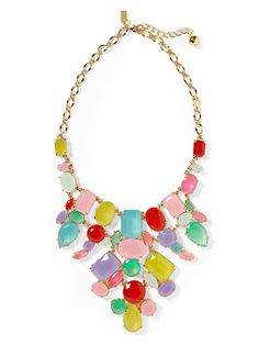 Gumdrop Bib Necklace Product Image